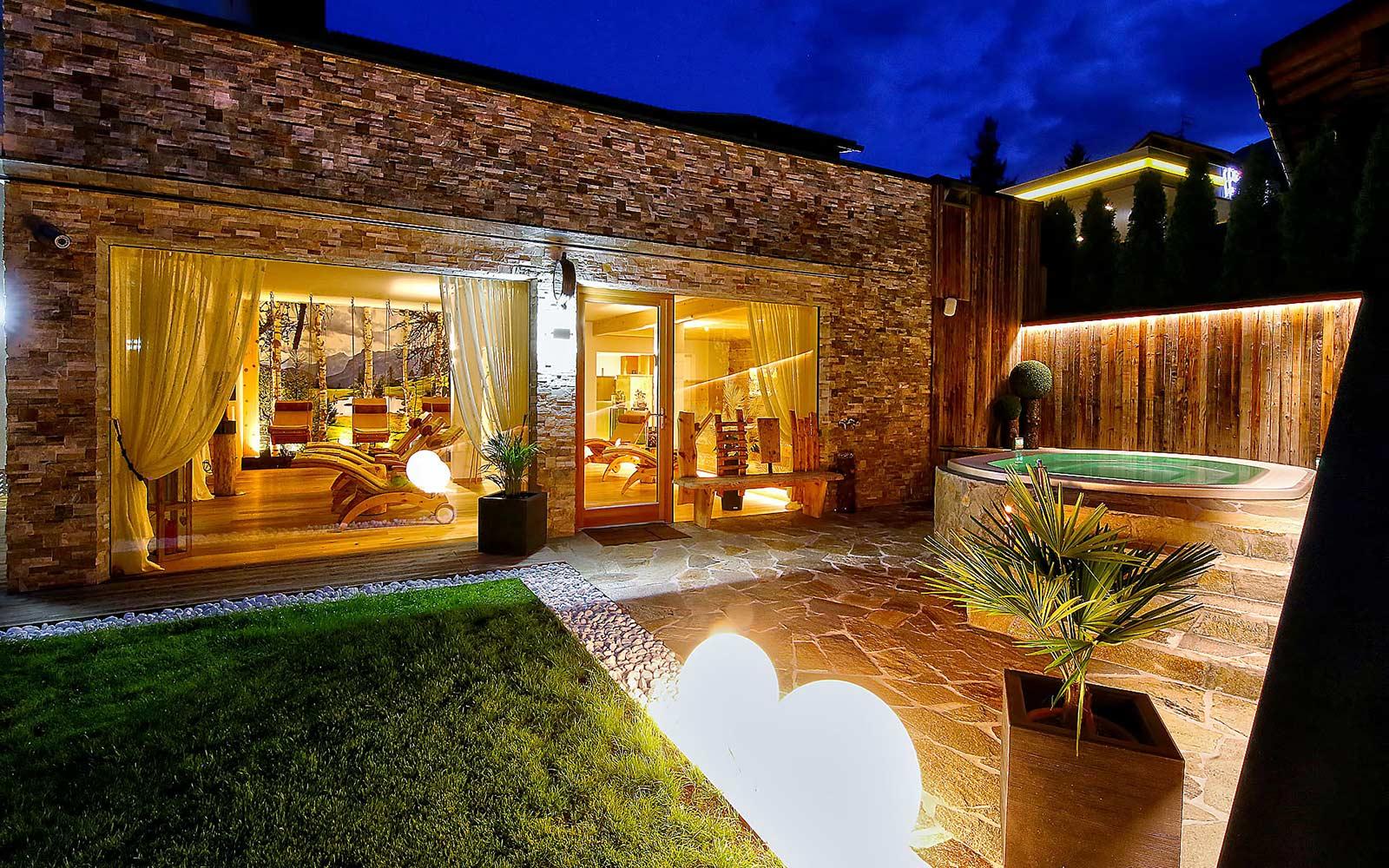 VASCA IDROMASSAGGIO<br>HOTEL LA BERCIA - LA VILLA