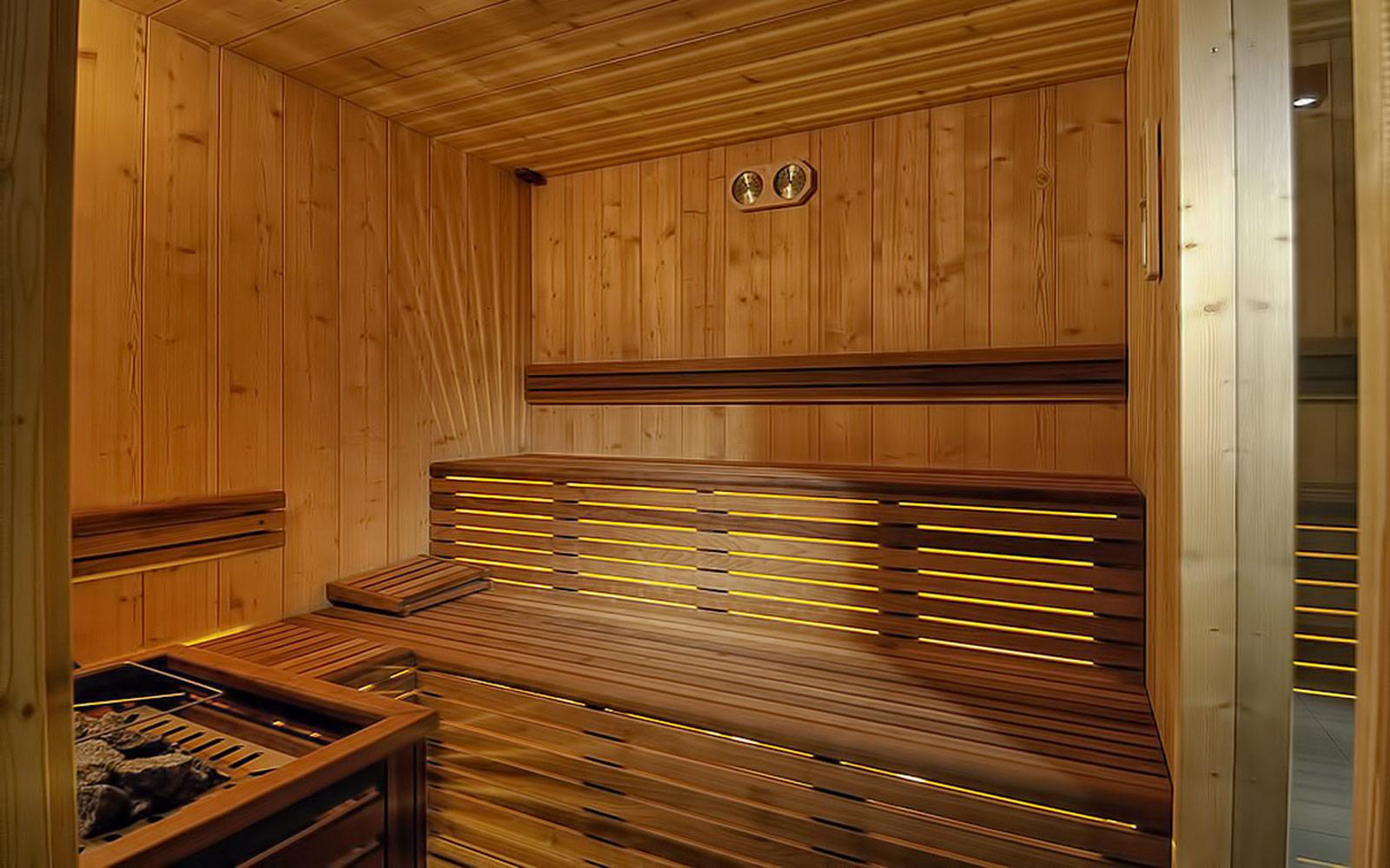 SAUNA FINLANDESE<br>HOTEL SPORTING - MEZZANA