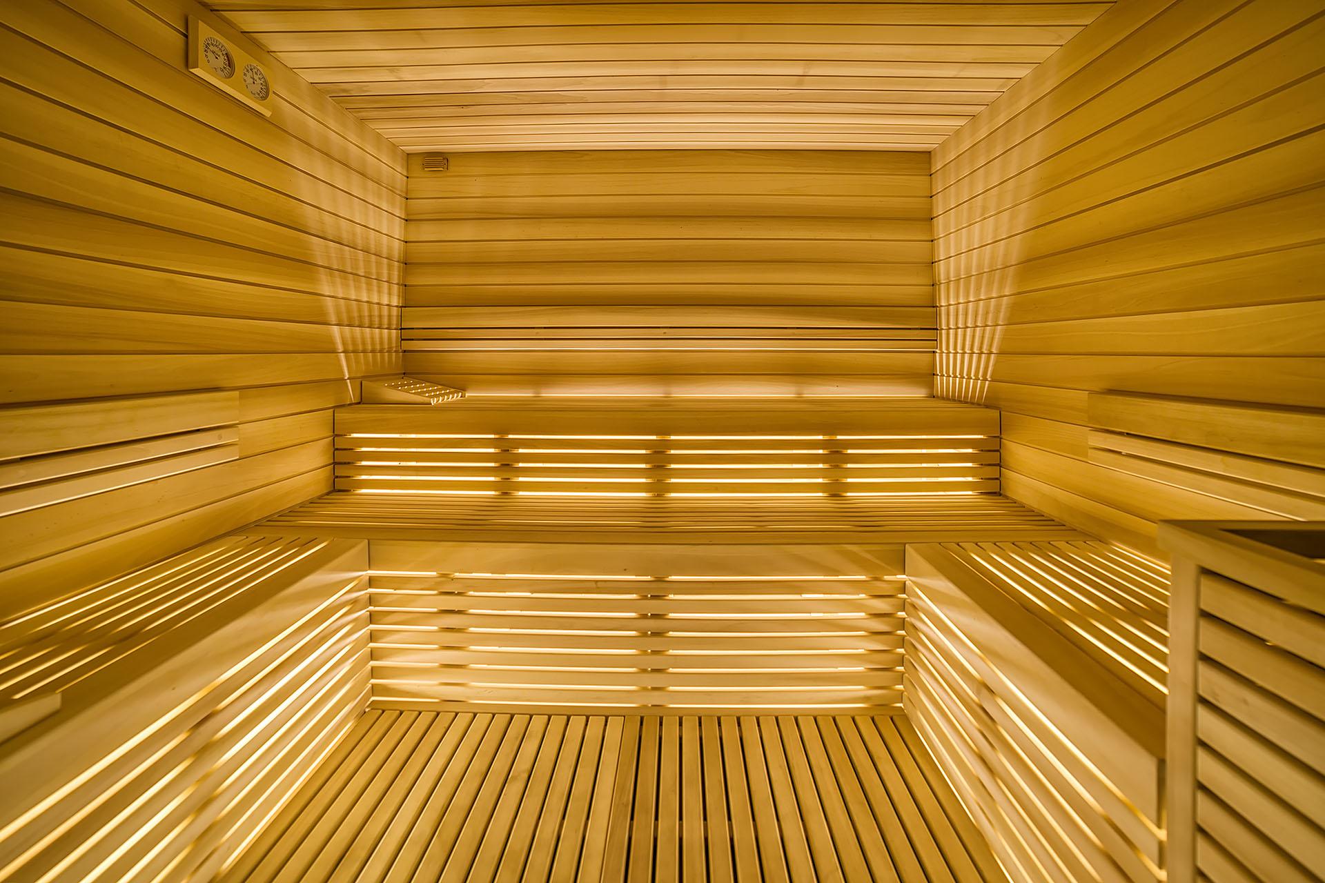 SAUNA FINLANDESE<br /> HOTEL REGENT'S - ANDALO