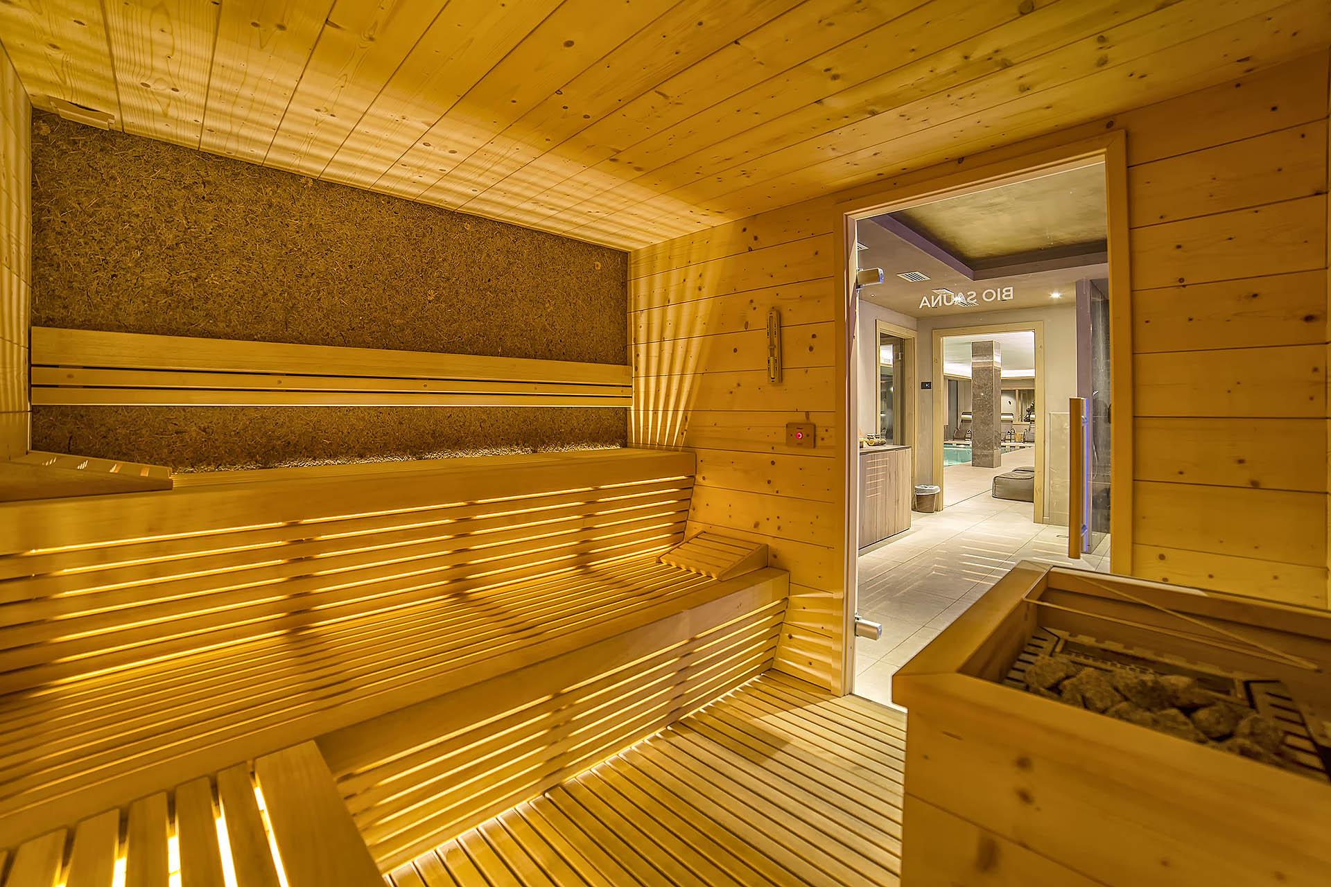 BIO SAUNA<br /> ACTIVE HOTEL FRANCESIN - LIVIGNO