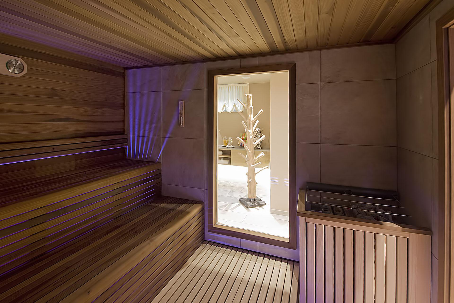 SAUNA FINLANDESE<br /> HOTEL AMBASSADOR - LEVICO