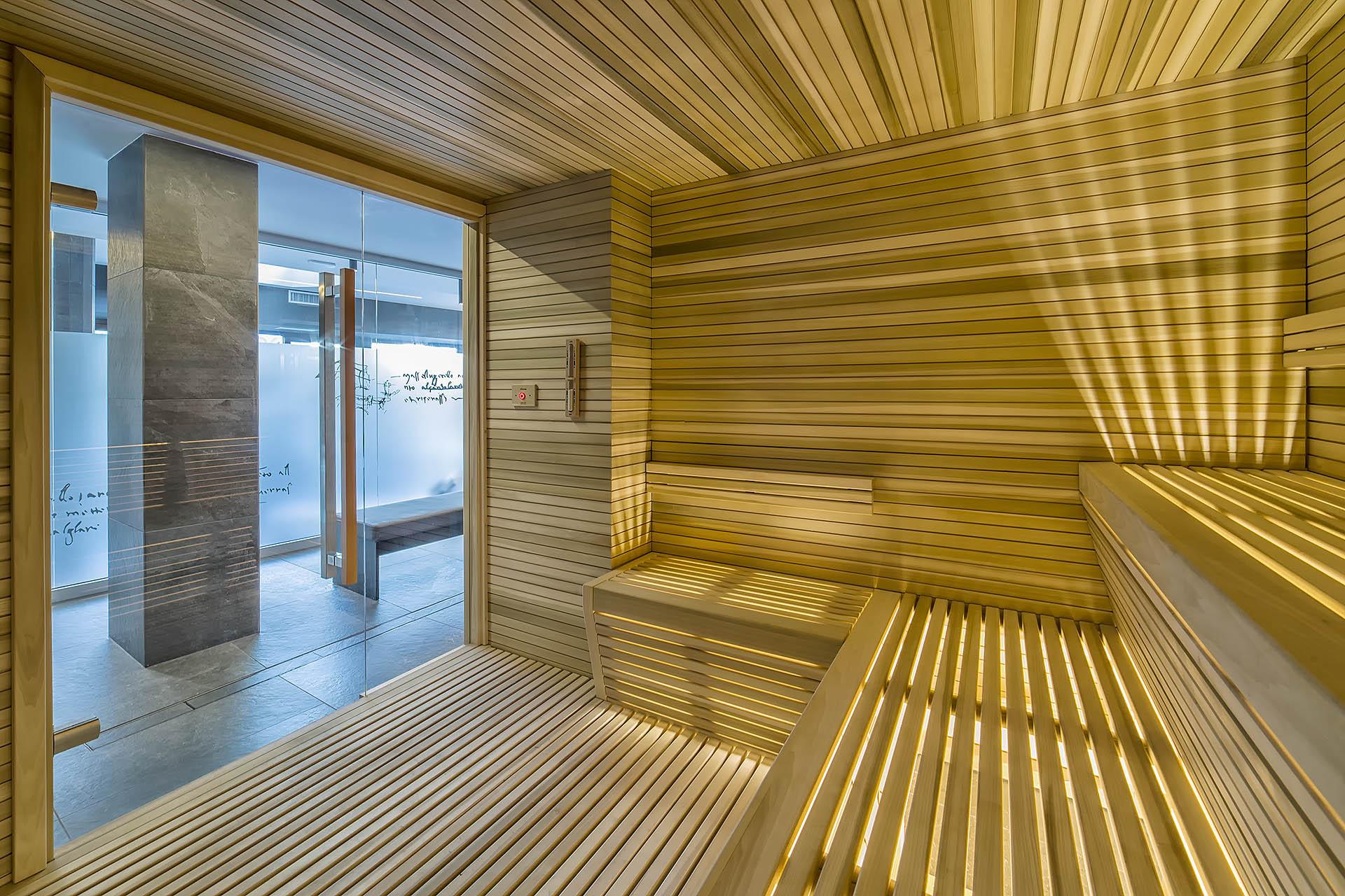 SAUNA FINLANDESE<br /> HOTEL TERME PREISTORICHE -  MONTEGROTTO TERME (PD)