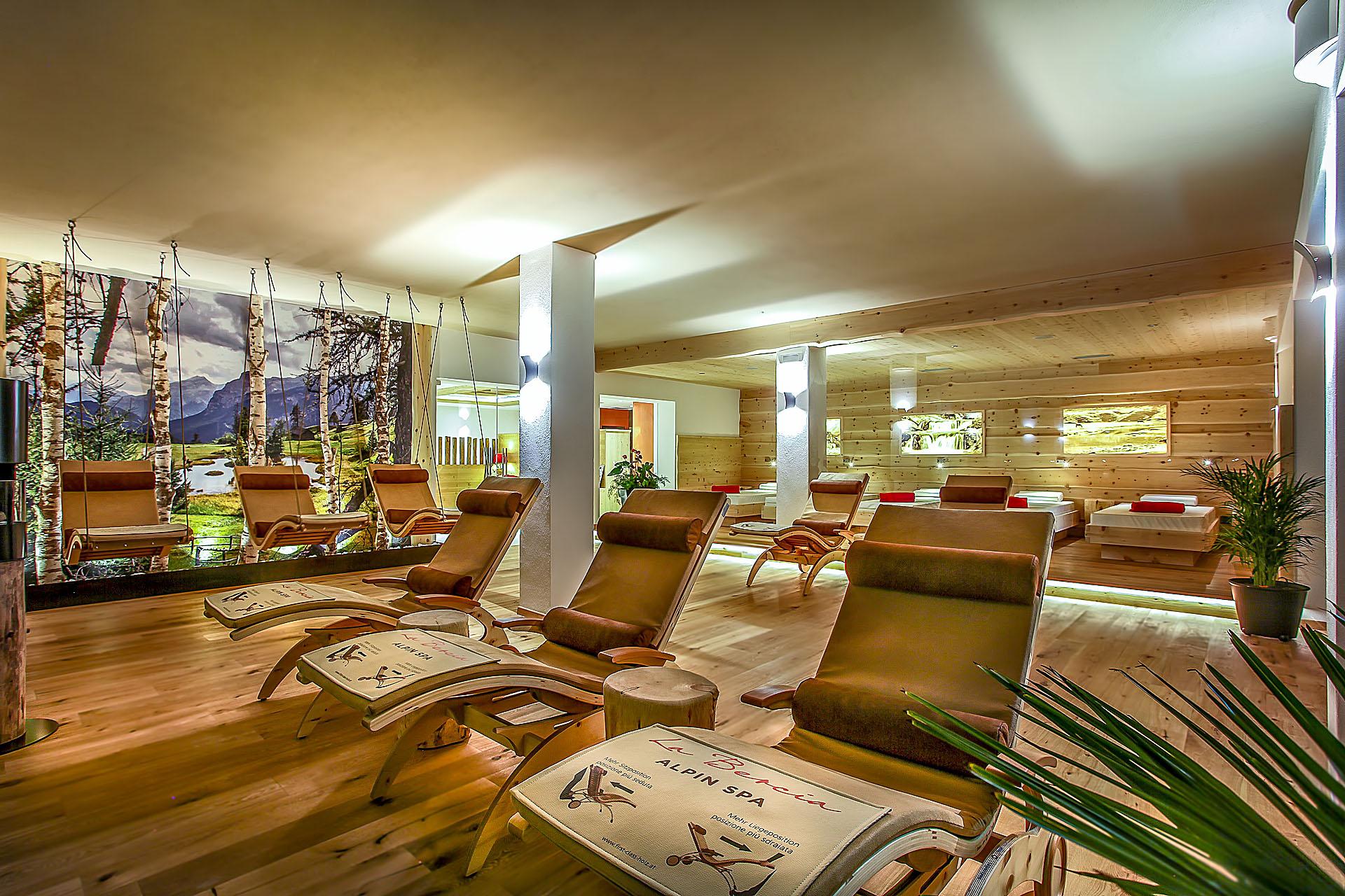 AREA RELAX<br /> HOTEL LA BERCIA - LA VILLA