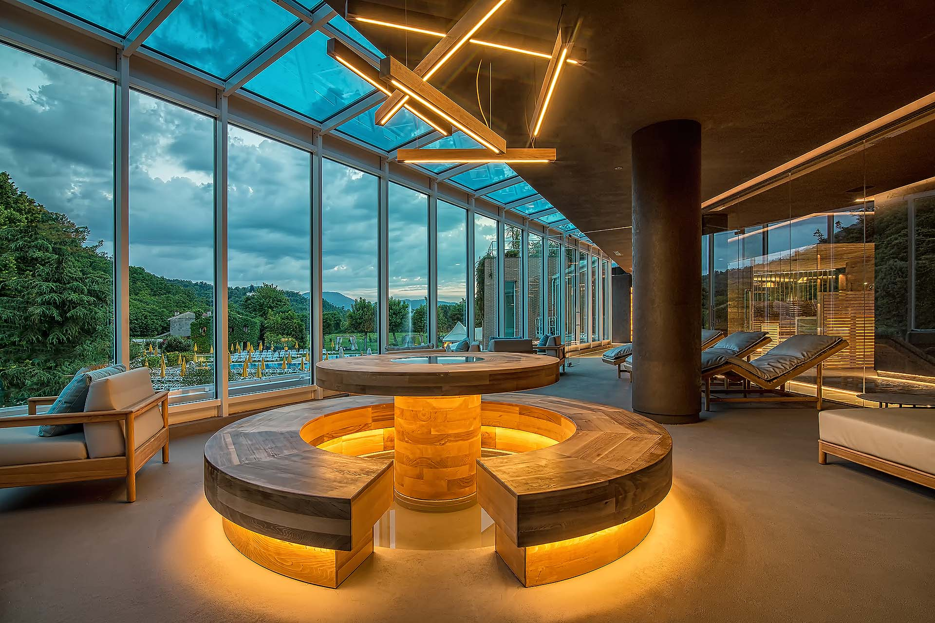 AREA RELAX<br /> HOTEL TERME PREISTORICHE -  MONTEGROTTO TERME (PD)