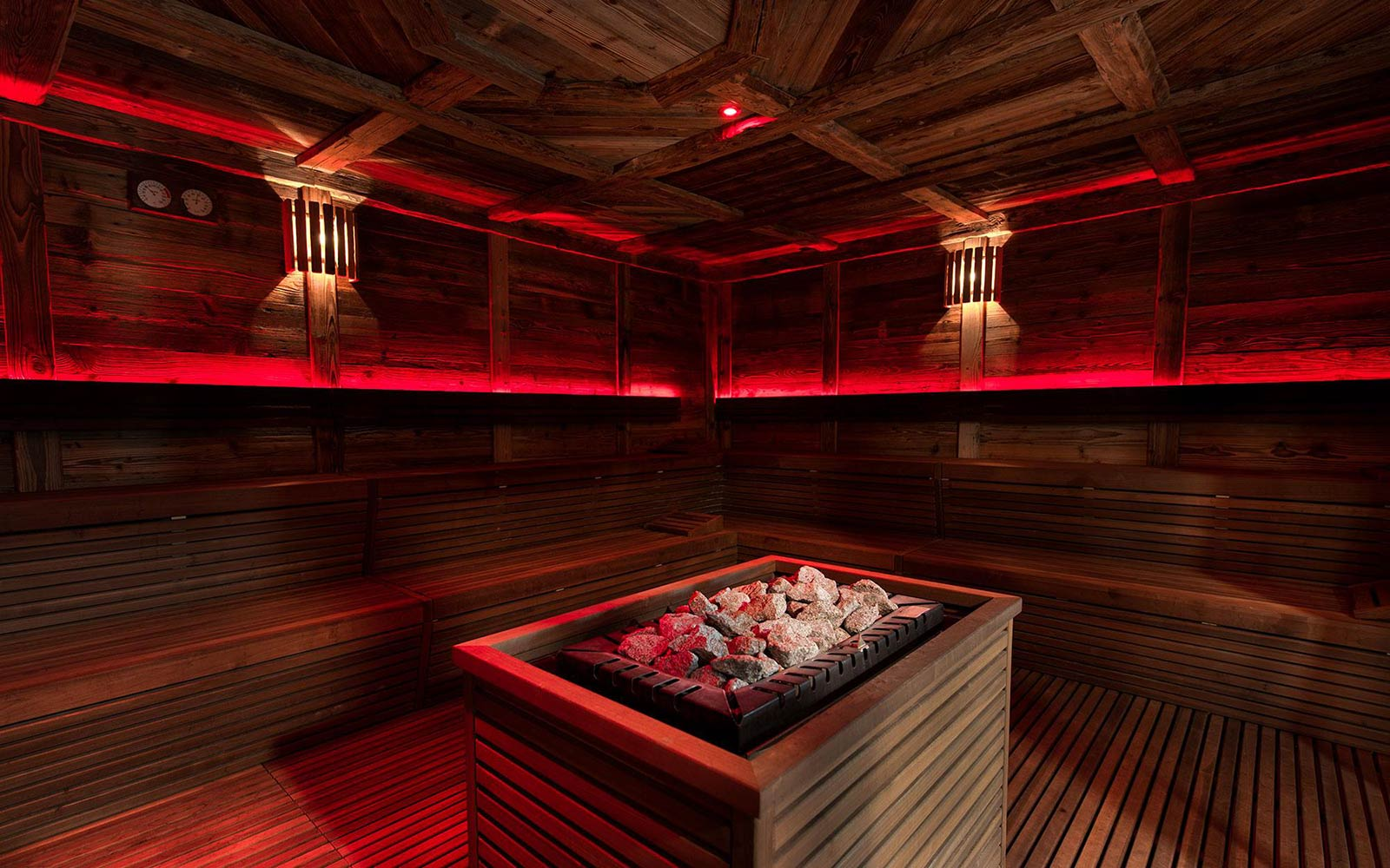 SAUNA FINLANDESE<br>AQUAGRANDA ACTIVE YOU - LIVIGNO