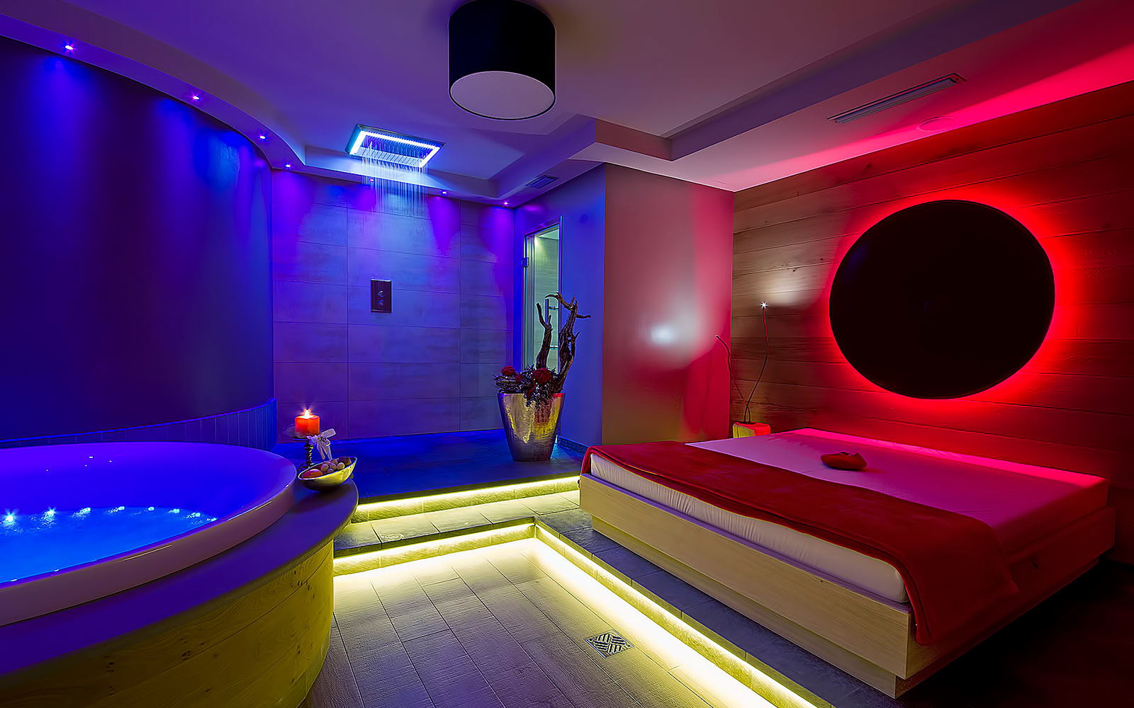 PRIVATE SPA<br>HOTEL AMBASSADOR - LEVICO