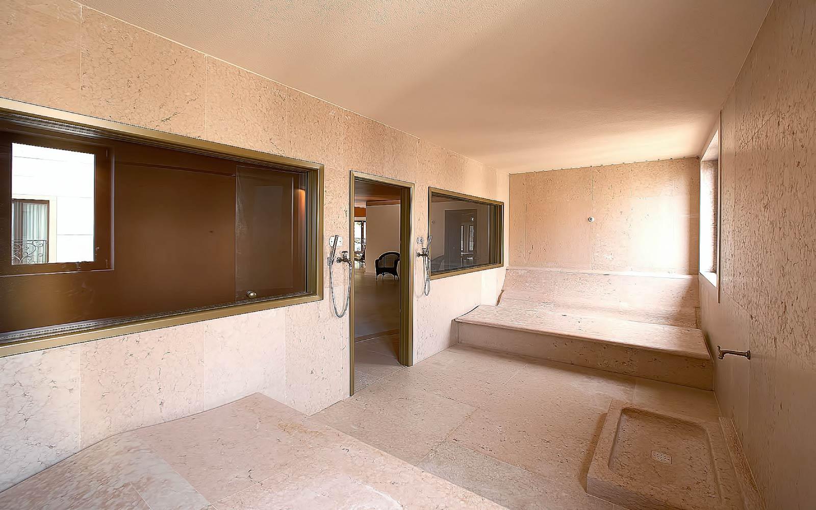 SAUNA ROMANA<br>CASINO' HOTEL MULINO - CROAZIA