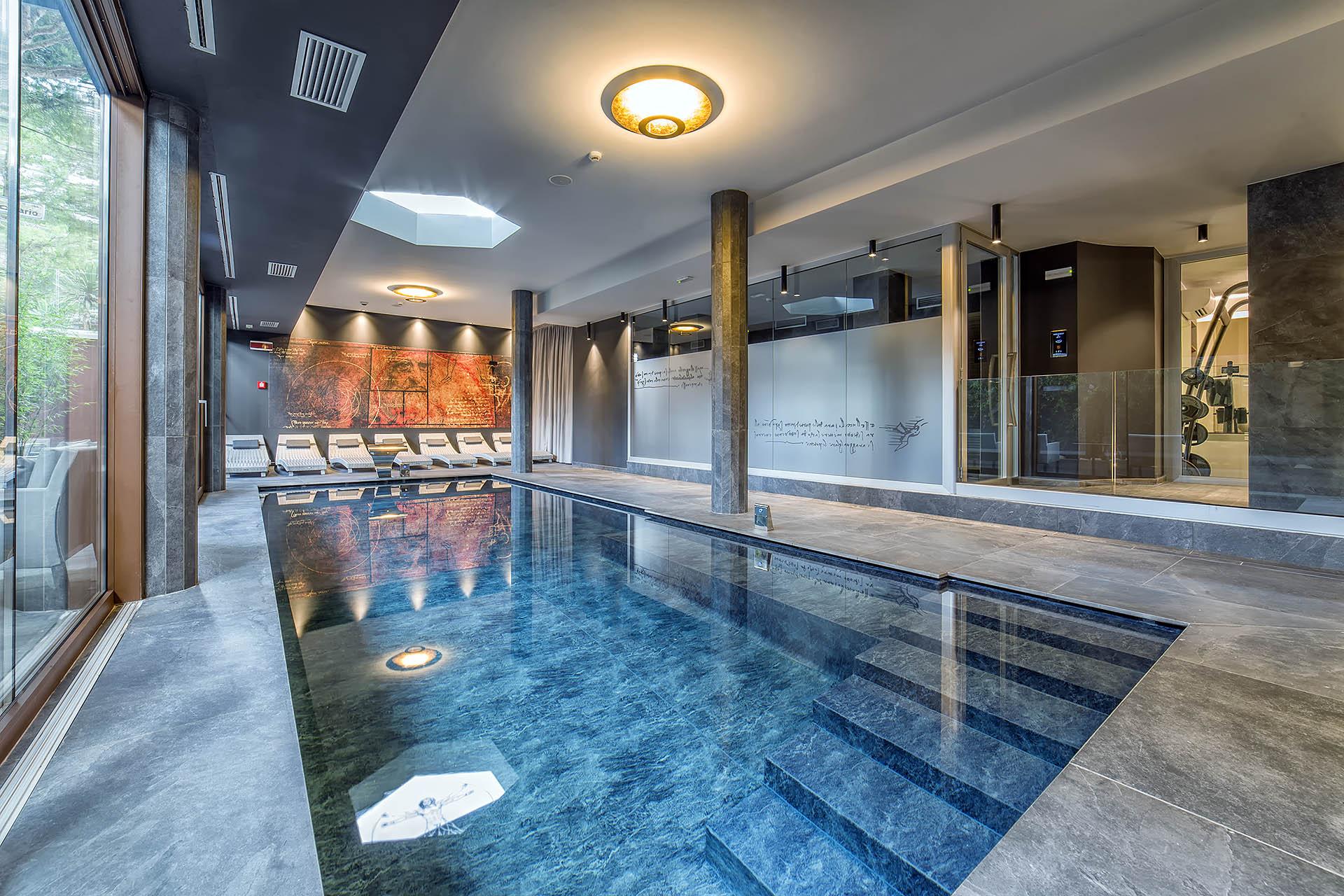 PISCINA ADULTI<br /> HOTEL LEONARDO DA VINCI - BIBIONE (VE)