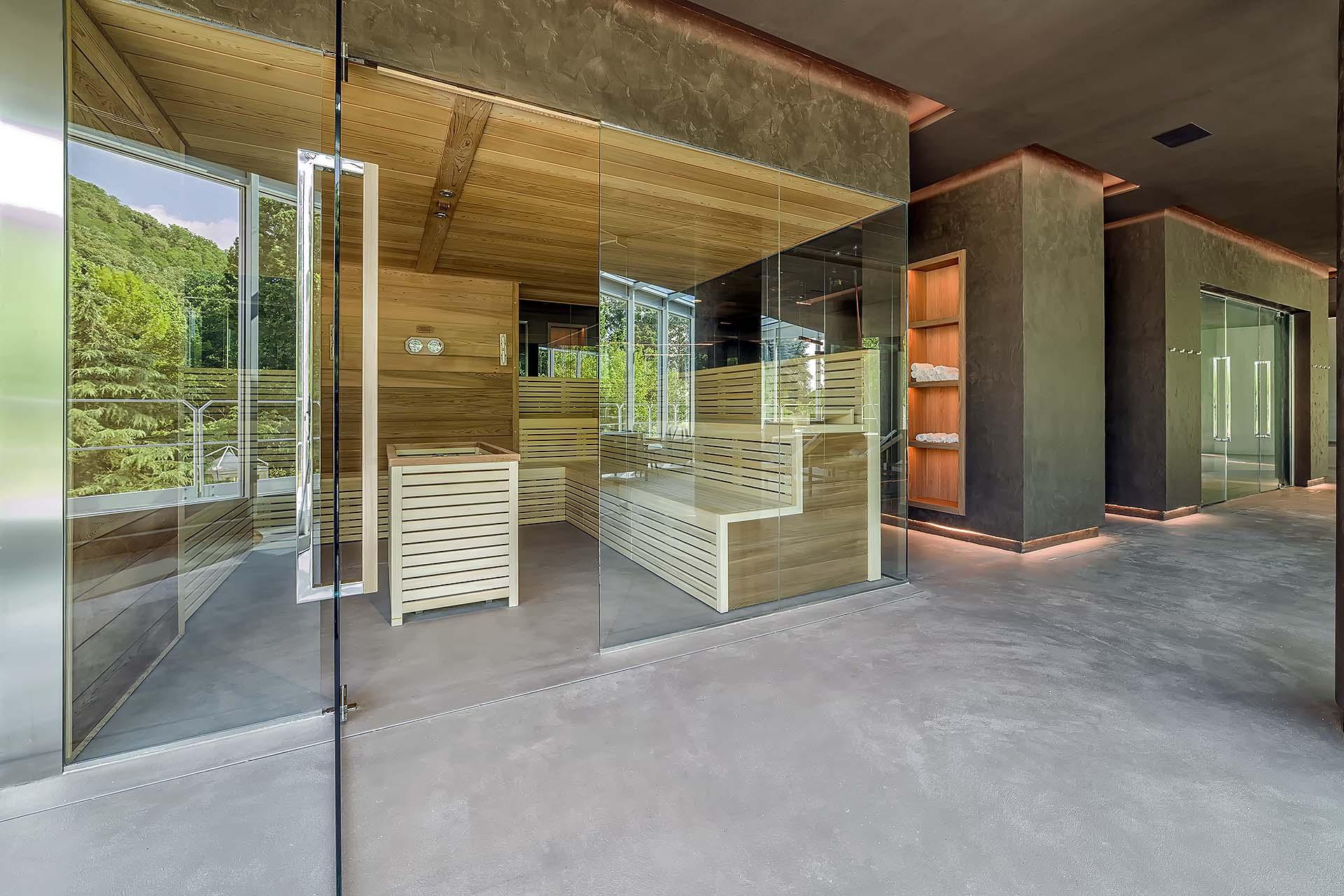 SAUNA FINLANDESE<br /> HOTEL TERRE PREISTORICHE - MONTEGROTTO TERME (PD)